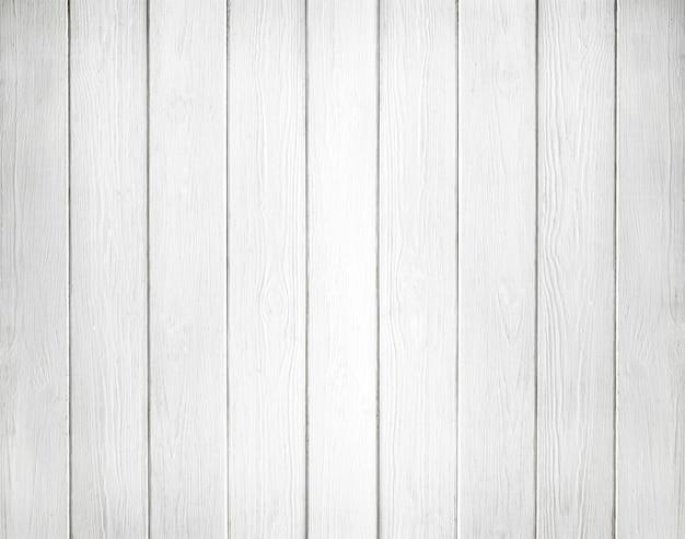 Superficie blanca de tablones de madera