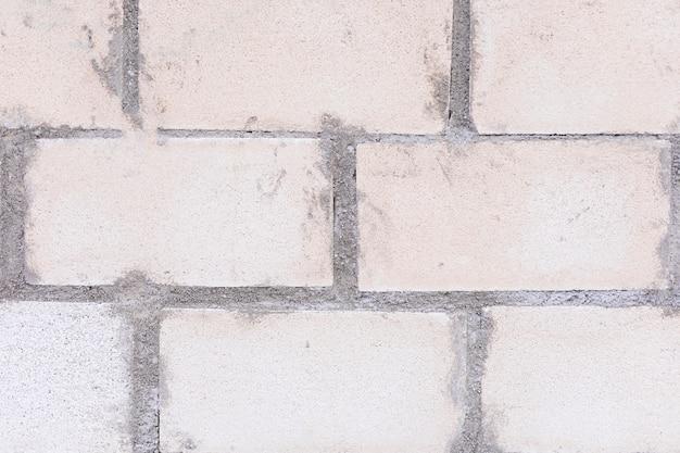 Superficie de cemento y ladrillos