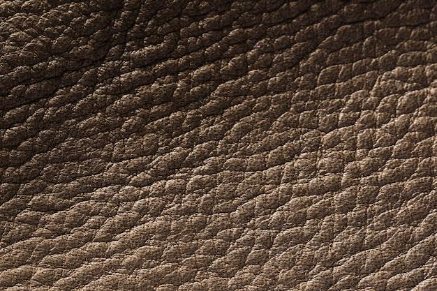 Superficie de fondo de textura de cuero extremadamente cercana