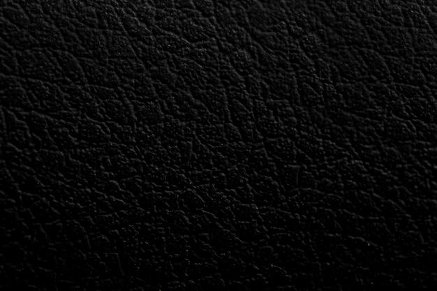 Superficie de fondo de textura de cuero negro
