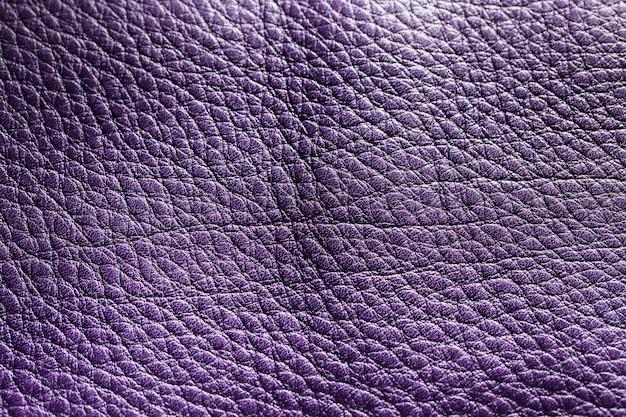 Superficie de fondo de textura de cuero violeta