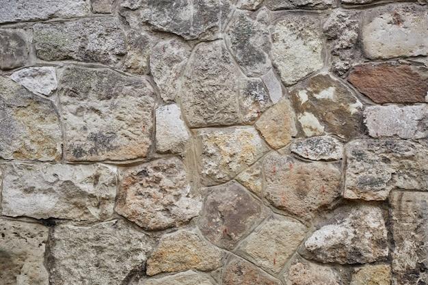 Superficie de la foto de textura de pared de piedra