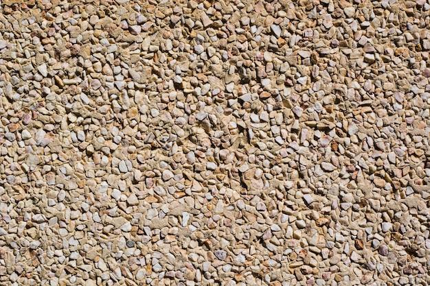 Superficie granulada de cemento