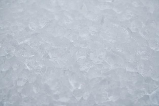 Superficie con hielo