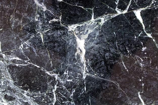 Superficie de mármol negro