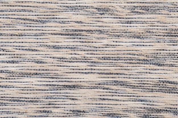 Superficie mezclada tejida de sisal natural, textura de fondo y color