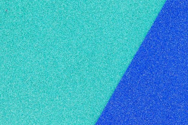 Superficie ruidosa de color azul brillante