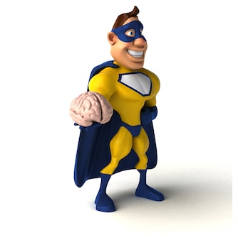 Superhéroe divertido