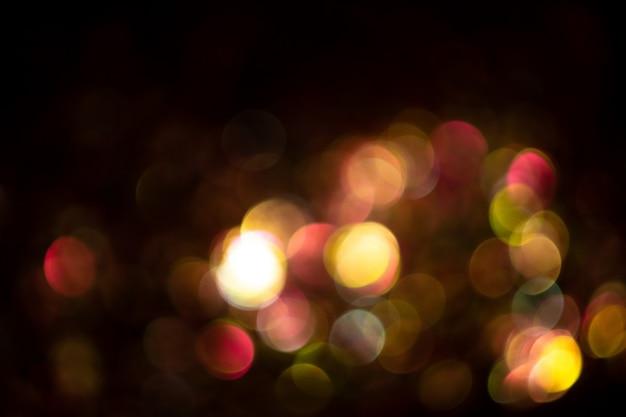 Superposición de fondo abstracto brillante de oro rosa brillo navidad