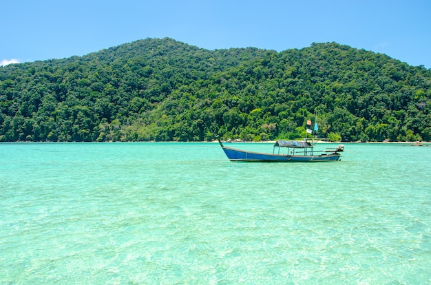 Surin island boat