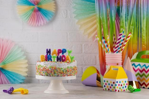Surtido de adornos para tartas y fiestas