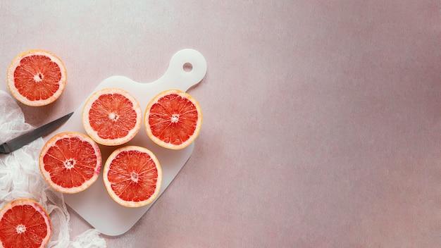 Surtido de alimentos saludables para estimular la inmunidad.
