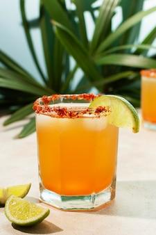 Surtido de bebidas picante michelada
