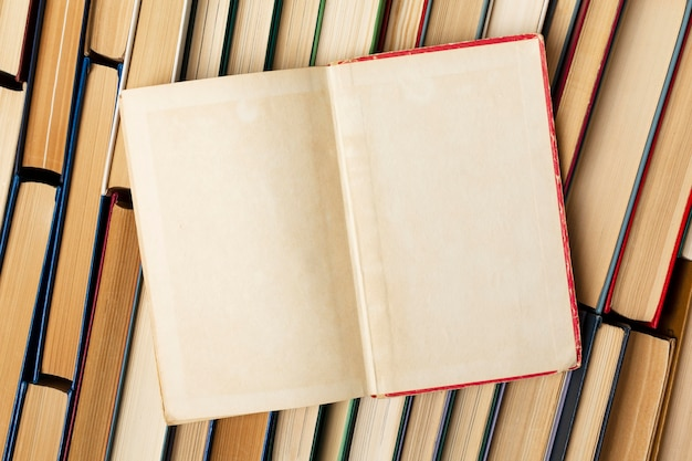 Surtido creativo del día mundial del libro.