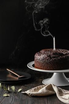 Surtido de deliciosa tarta de chocolate