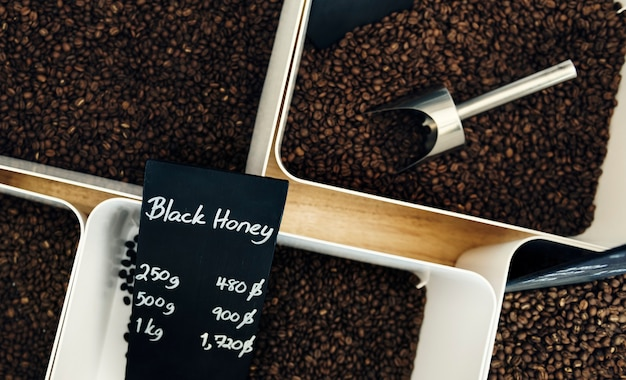 Surtido de granos de café