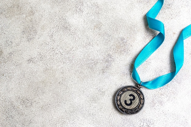 Surtido de medallas olímpicas del tercer lugar