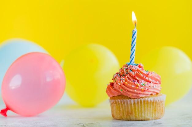 Sweet cupcake con velas