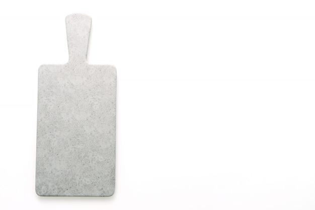 Tabla de cortar gris vacía