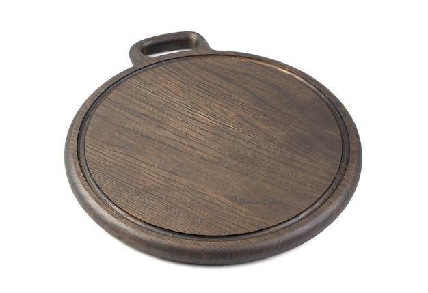 Tabla de cortar de madera aislada