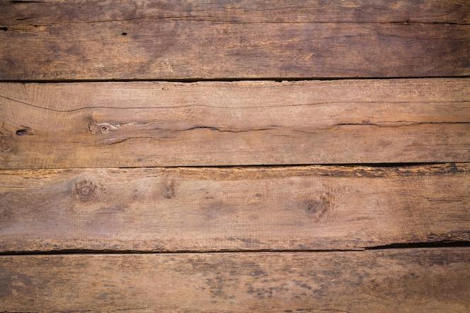 Tablas de madera estropeada