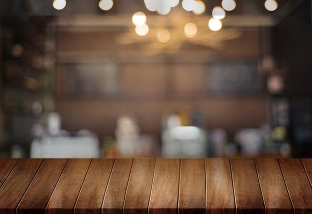 Tablero de madera fondo tabl vacío