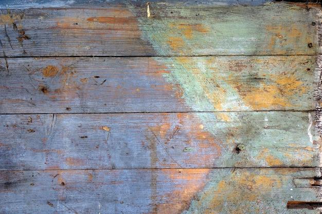 Tablero de madera multicolor antiguo