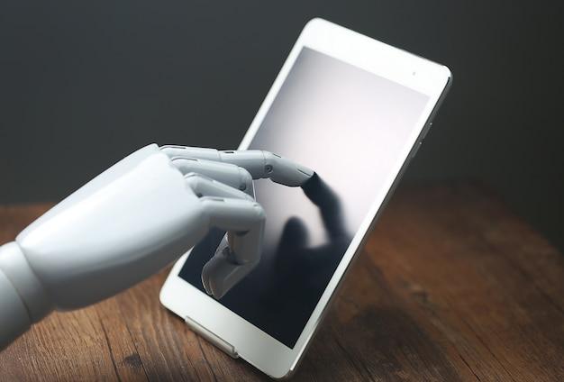 Tableta de operaciones robótica ai