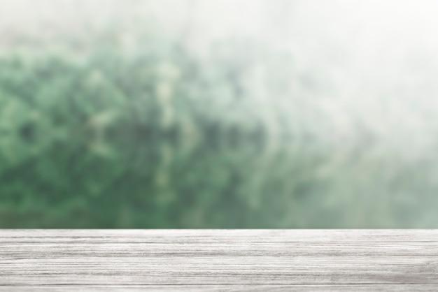 Tablón de madera rústica en el fondo del producto de la naturaleza