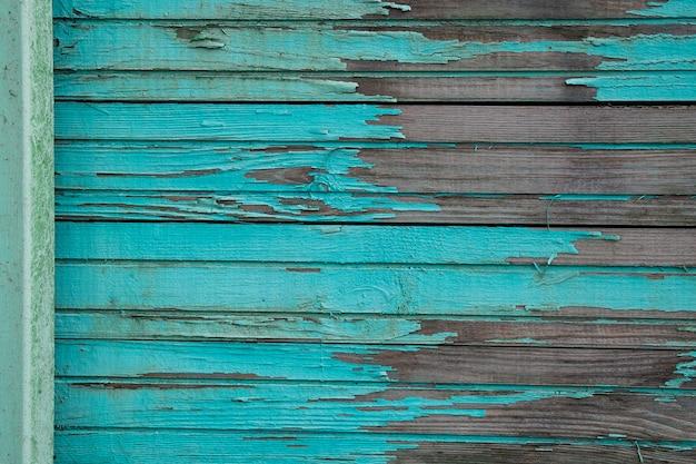 Tablones de madera azules