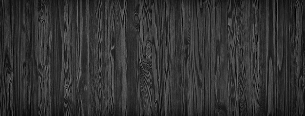Tablones de madera negros