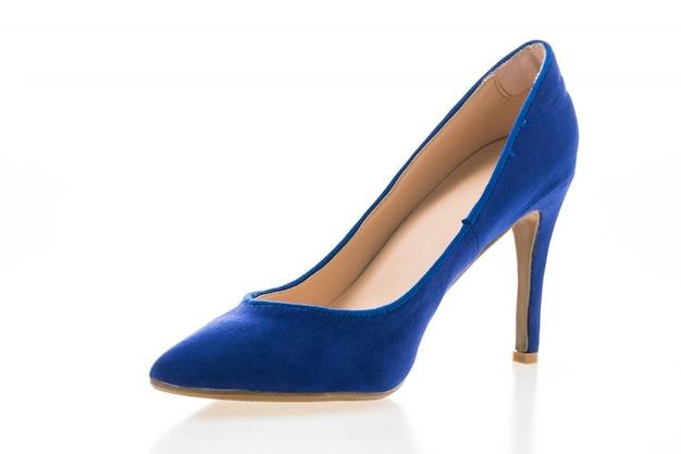 Tacones de zapatos del pie mujer niña