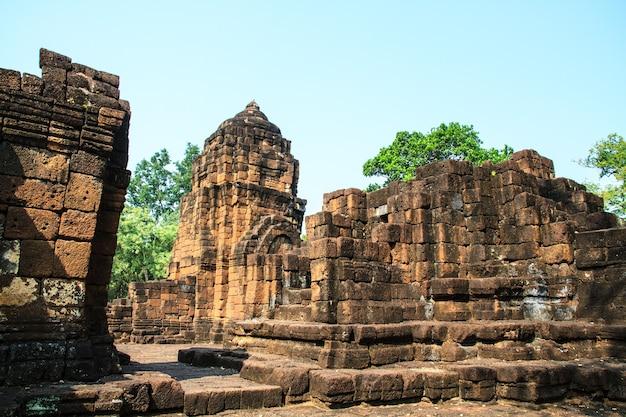 Tailandia antigua: templos en kanchanaburi, conocidos como el