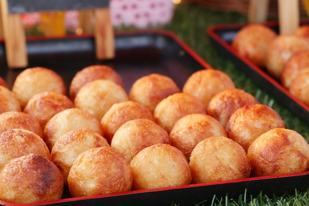 Takoyaki es un snack japonés