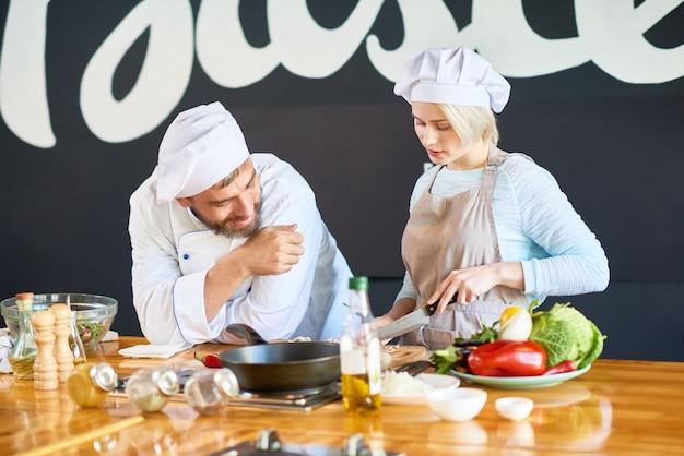 Taller interactivo de cocina