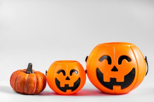 Tanque de calabaza de halloween.