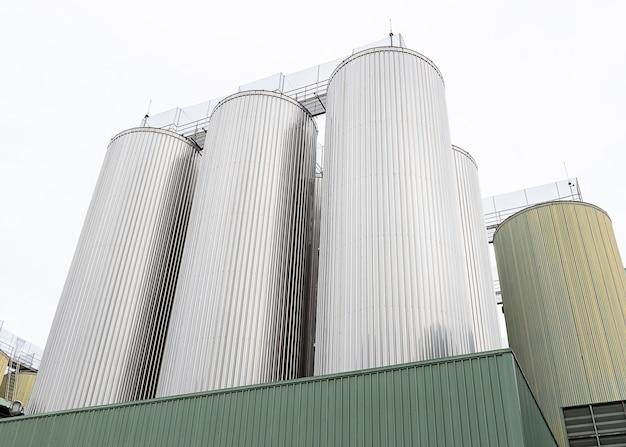 Tanque de fermentación de cerveza o planta de elaboración de cerveza