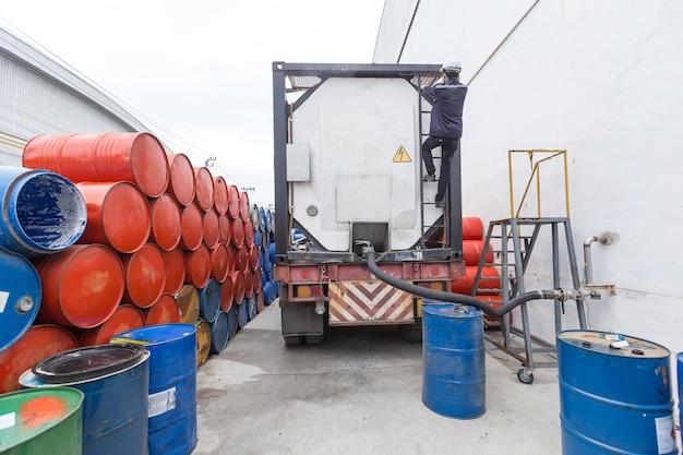 Tanques de barril de aceite