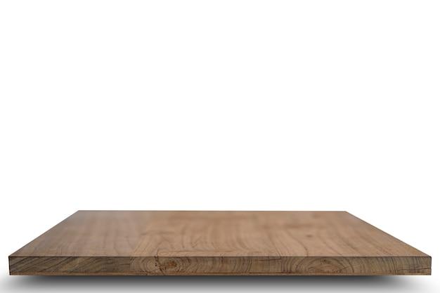 Tapa de la mesa de madera