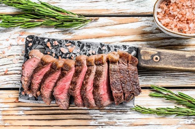 Tapa de solomillo a la parrilla o bistec picanha