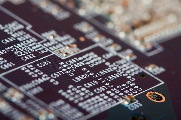 Tarjeta de circuitos electrónicos