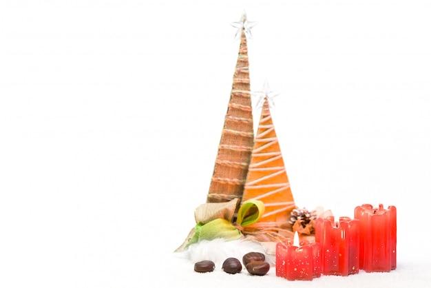 Tarjeta de felicitación feliz navidad y feliz año nuevo