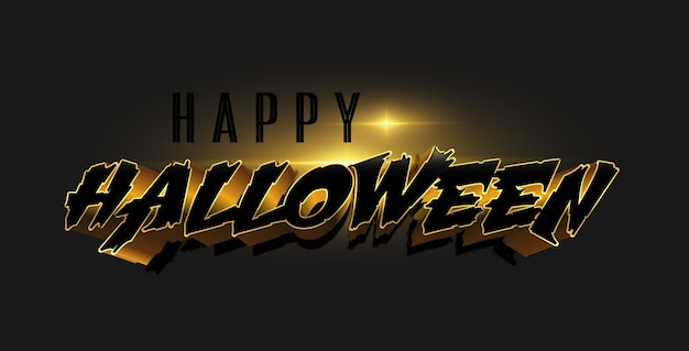 Tarjeta de felicitación o invitación feliz halloween