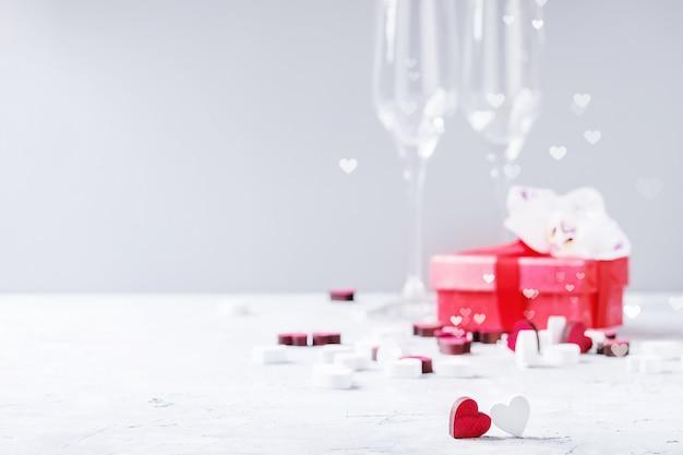 Tarjeta de felicitación de san valentín amor