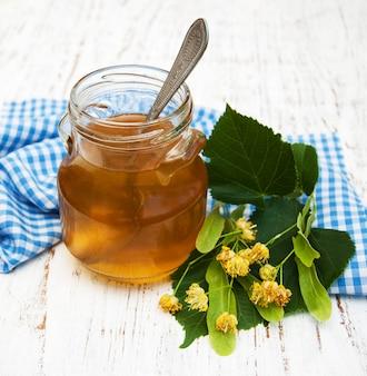 Tarro con miel