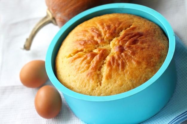 Tarta de naranja y calabaza
