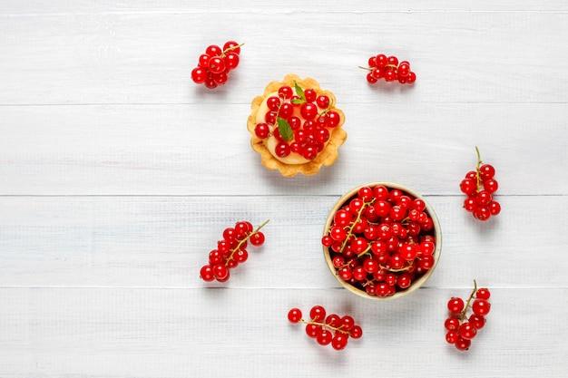 Tartaletas caseras deliciosas rústicas de verano