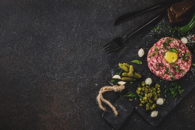 Tartar de solomillo de ternera