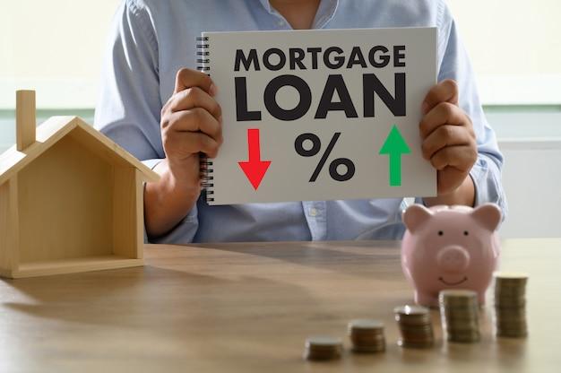 Tasas hipotecarias préstamo dinero