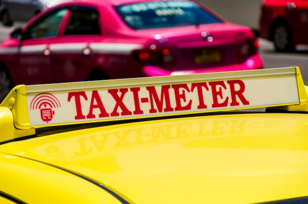 Taxi tailandia.